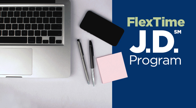 New FlexTime J.D. Program to Begin Fall 2018
