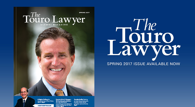 Check out The Touro Lawyer