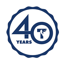 Celebrating 40 Years! Logo