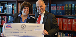 Touro Law Receives Funds from Suffolk County for Work with Veterans Logo