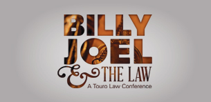 Touro Law Review Issue Published Special Volume on Musician Billy Joel and the Law Logo
