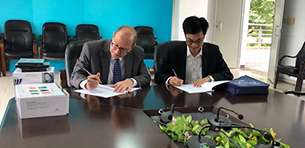 Touro Signs Agreement with South China Normal University Logo