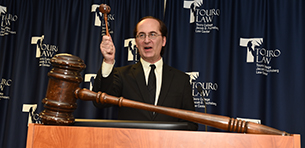 Touro's Auction Raises Record Funds for Student Fellowships Logo