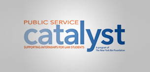 Four Touro Law Students Named Catalyst Public Service Fellows Logo