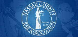 Five Touro Law Students Selected to Participate in the Nassau County Bar Association's COVID-19 Law Student Pro Bono Program Logo