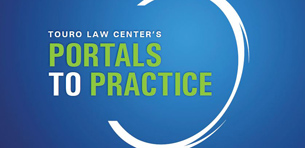 Touro Law First Year Students Enter the First Portal To Practice Logo