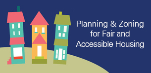 Leaders Gather for Discussion on Fair and Accessible Housing Logo