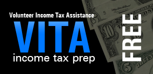 Law Student Volunteers Provide Tax Assistance Logo