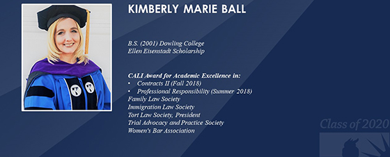 Graduate Spotlight: Kimberly Ball