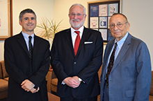 Sam Levine, Honorable Louis H. Kornreich and Dean Glickstein